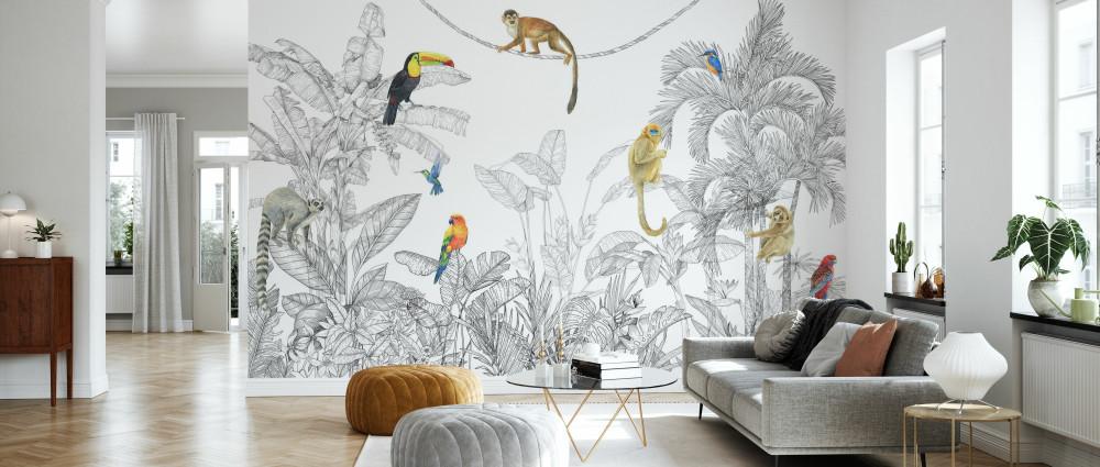 Mural - In Harmony Line Art (Per Sqm)