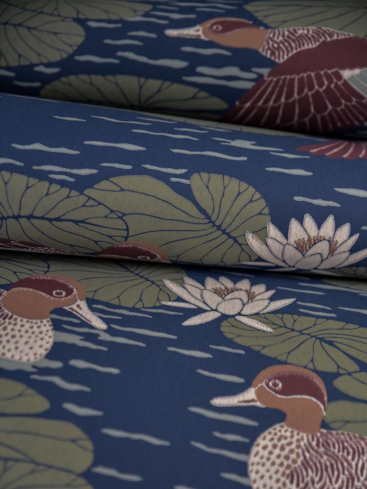 Duck Pond - Deep Blue