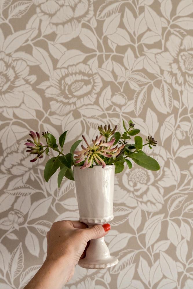 My Peony Garden - Chalk White