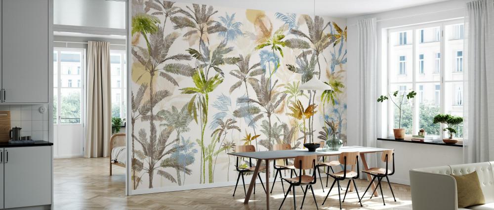 Mural - Rising Palms (Per Sqm)