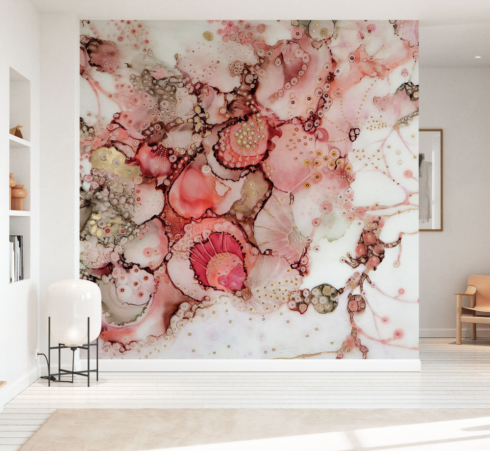 Mural - Coral Abstract (Per Sqm)