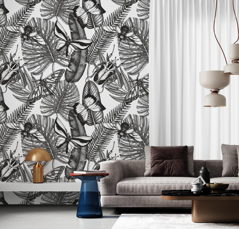Mural - Bugs & Butterflies (Per Sqm)