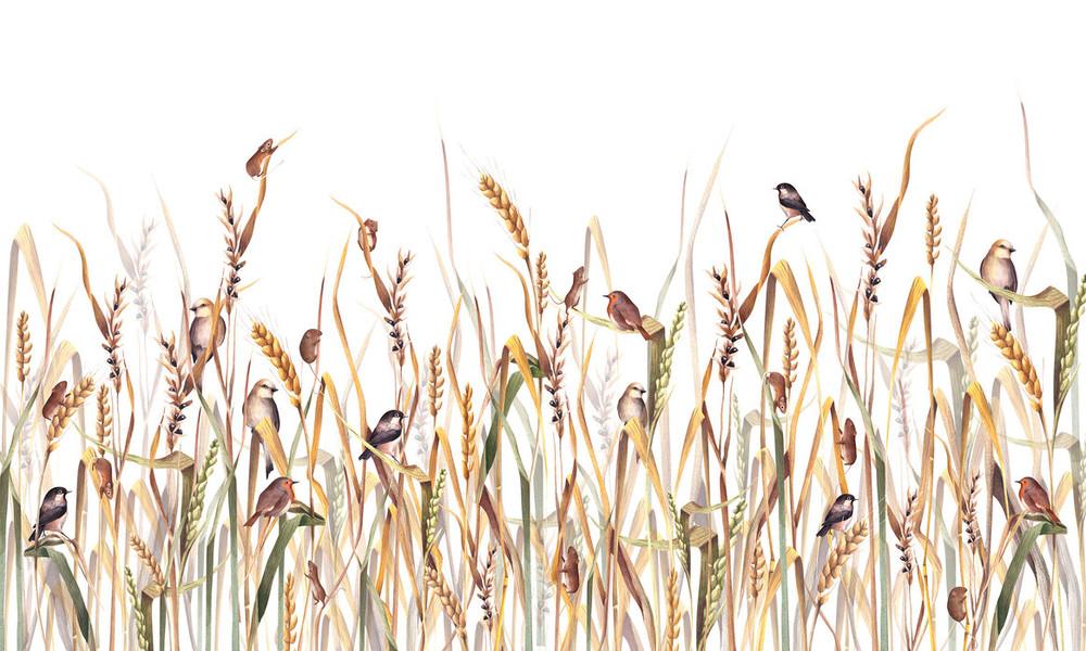 Mural - Friends In The Grass (Per Sqm)