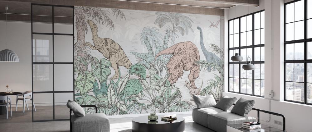 Mural - Dinosaur World (Per Sqm)