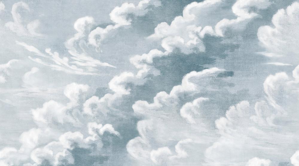 Mural - Clouds Sky Blue (Per Sqm)