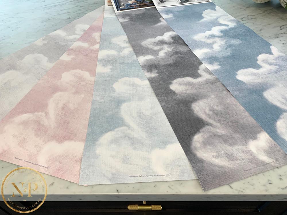 Mural - Clouds Monochrome (Per Sqm)