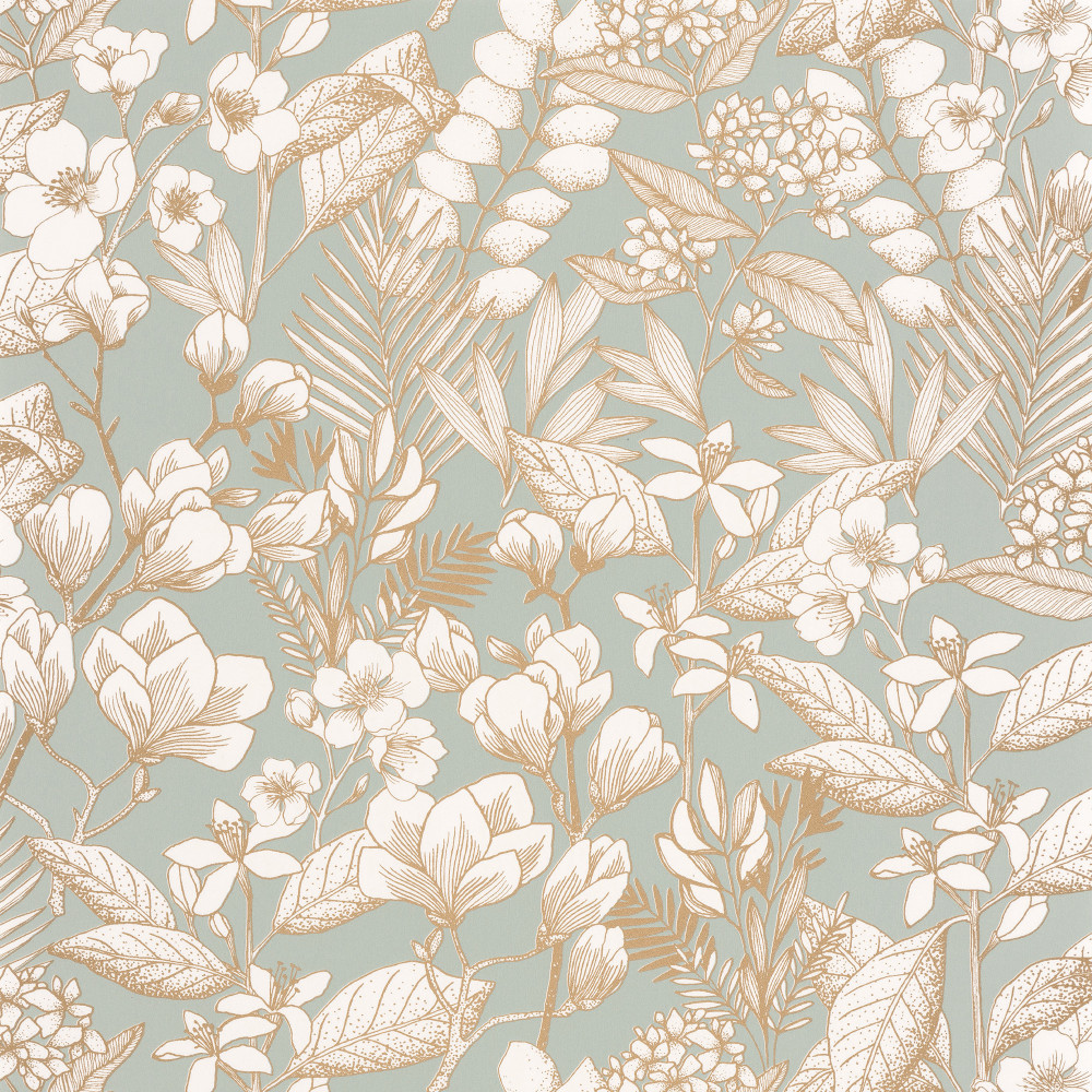 May - Soft Teal / Neutral