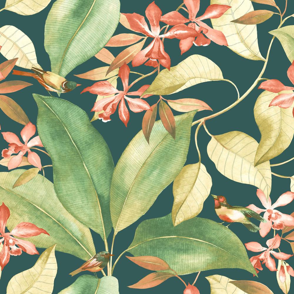 Birdsong - Teal / Green