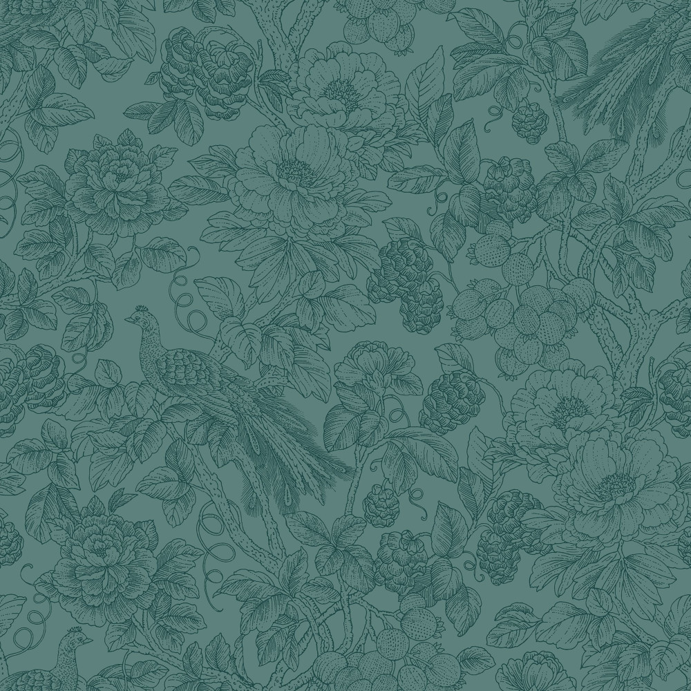 Feather - Teal Green