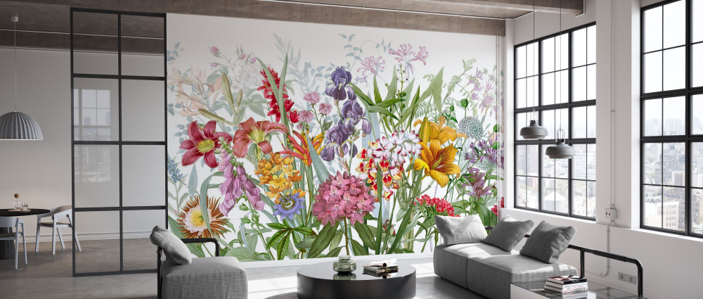 Mural - World Is Blooming (Per Sqm)