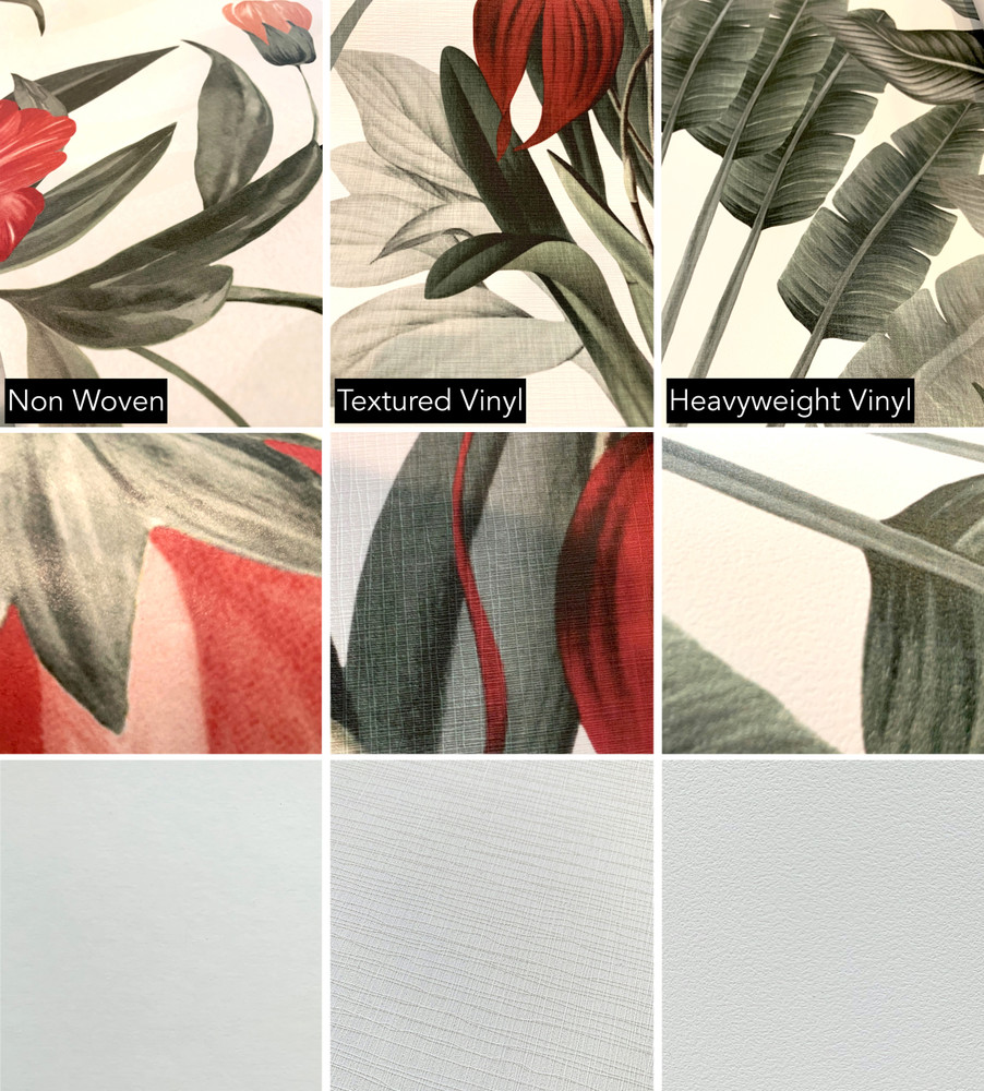 Mural - Vintage Jungle Grey (Per Sqm)