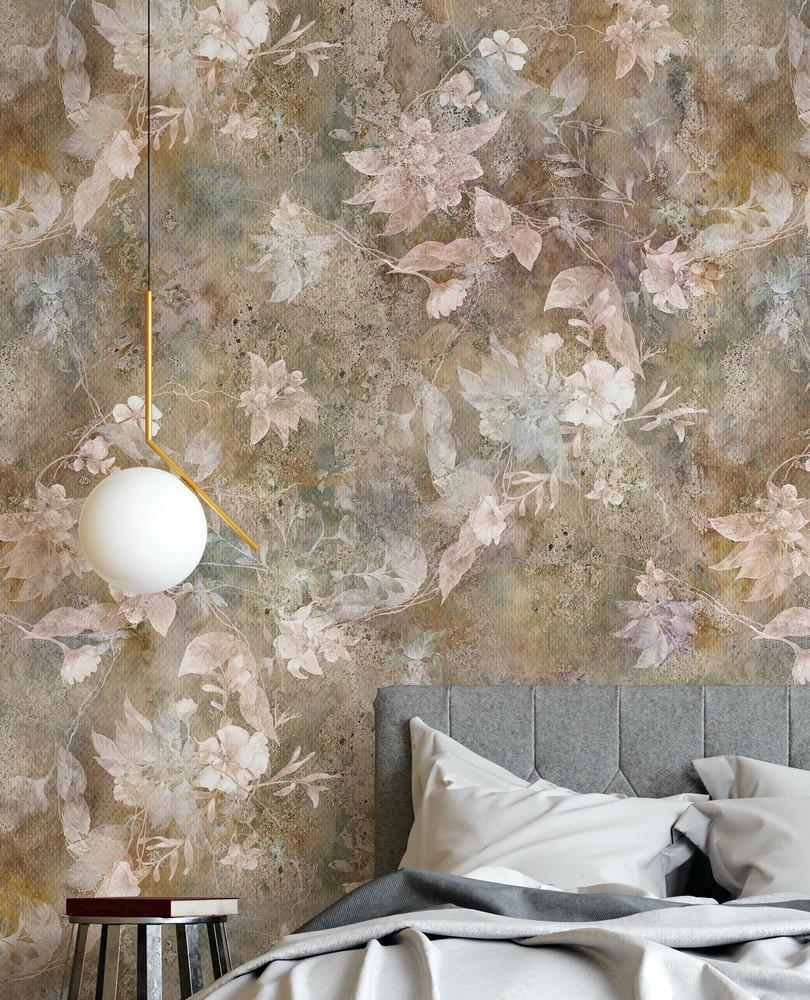 Mural - Dawn Flora (Per Sqm)