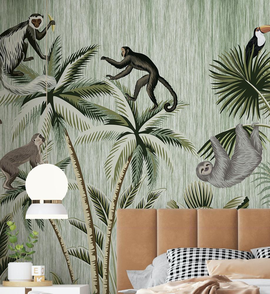 Mural - Its a Jungle Out There II (Per Sqm)