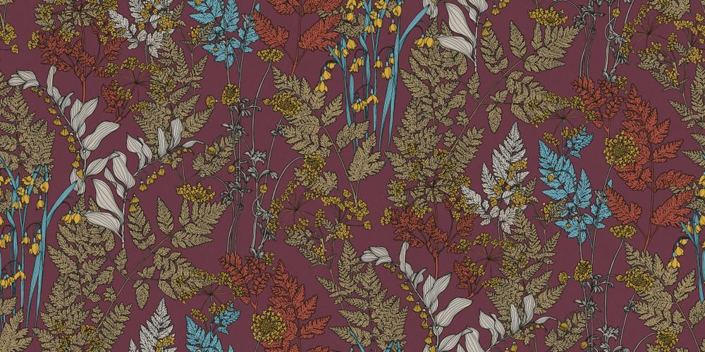 Cadencia - Maroon Purple