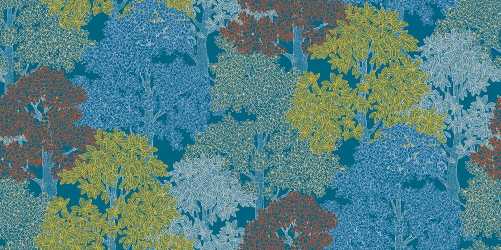 Arcadia - Blue / Multi
