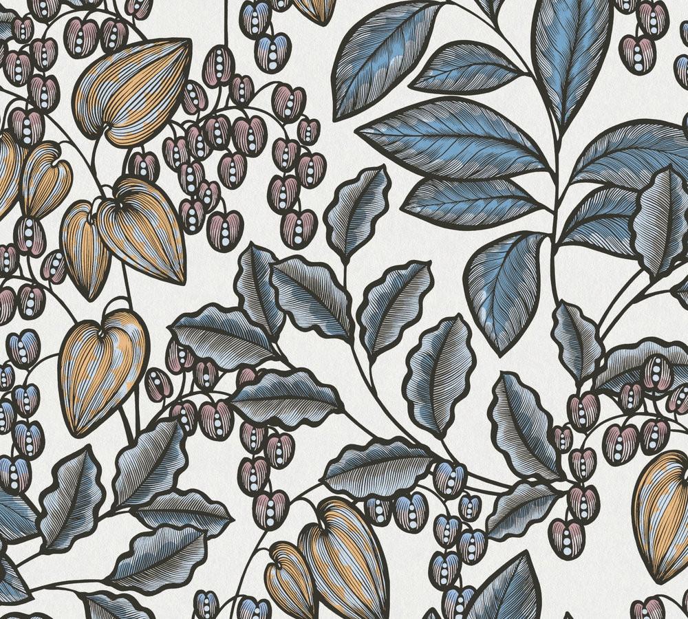 Botanica - Blue / White