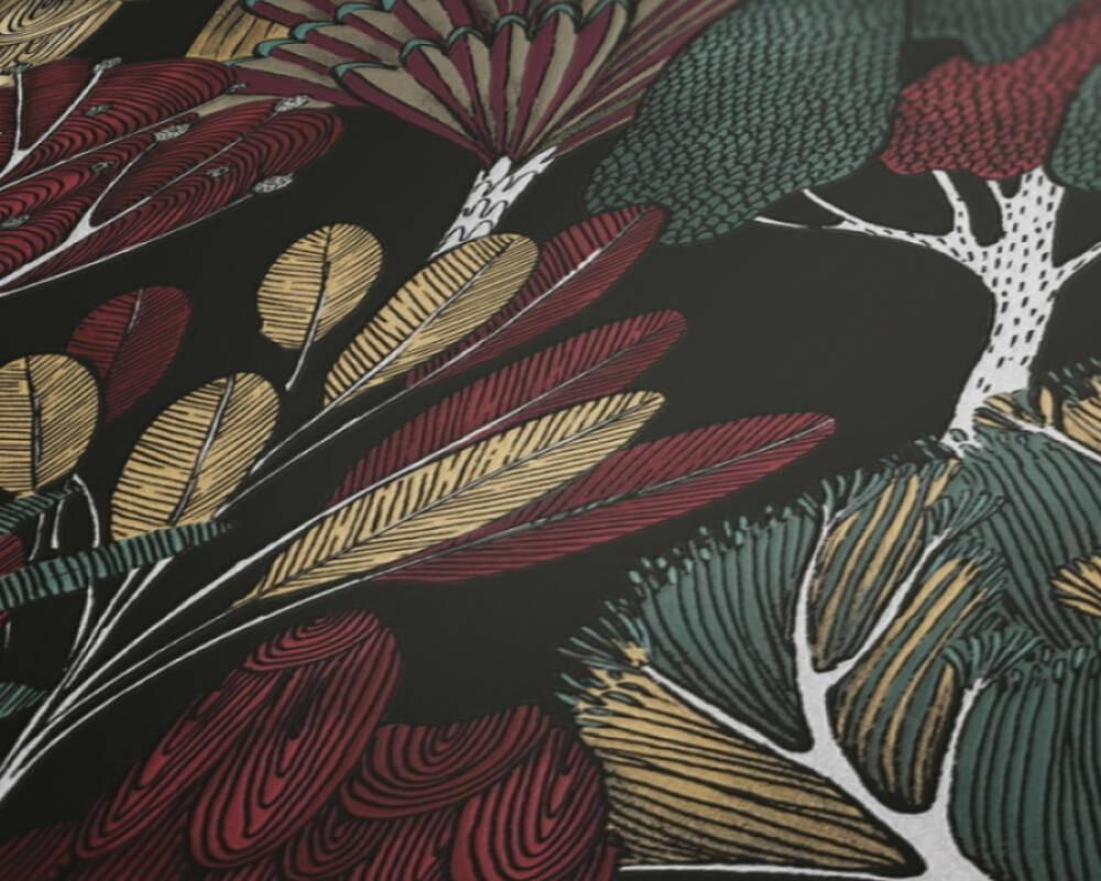 Botany Tree - Black / Multi
