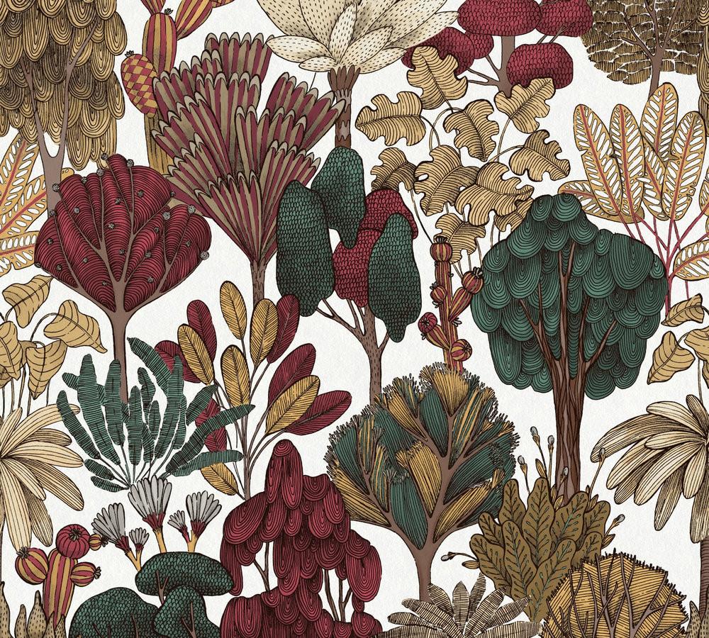Botany Tree - Natural / Red