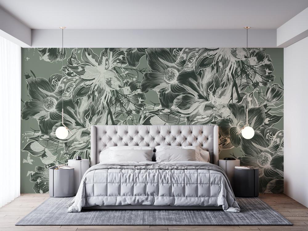 Mural - Devon Sage Green (Per Sqm)