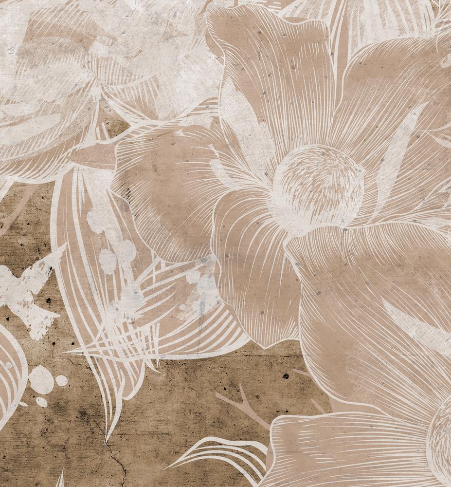 Mural - Devon Cement Natural (Per Sqm)