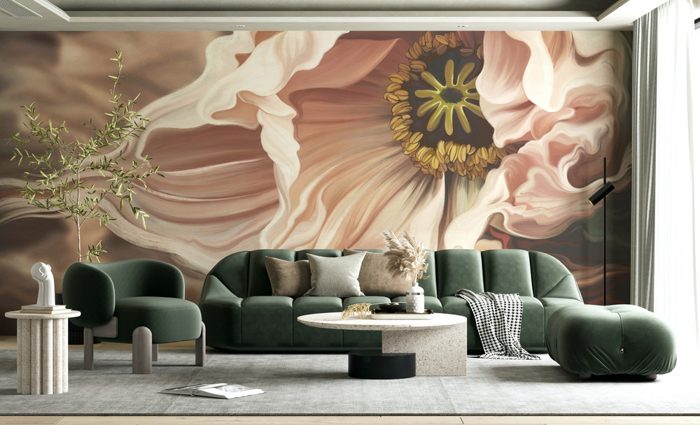 Mural - Rustica Pink (Per Sqm)