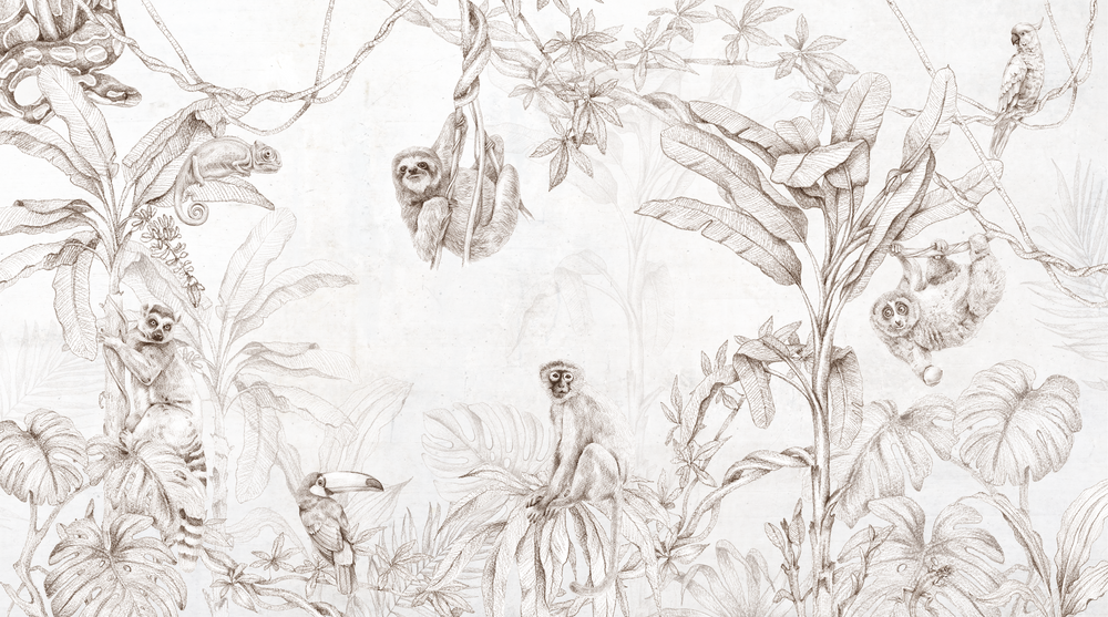 Mural - Whimsy Jungle (Per Sqm)