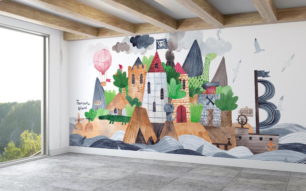 Mural - Treasure Island (Per Sqm)