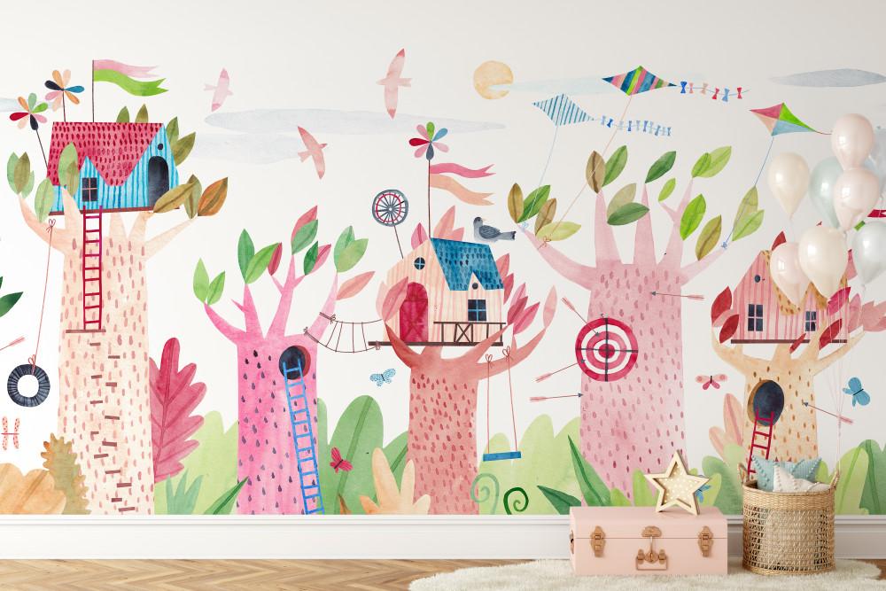 Mural - Treescape (Per Sqm)