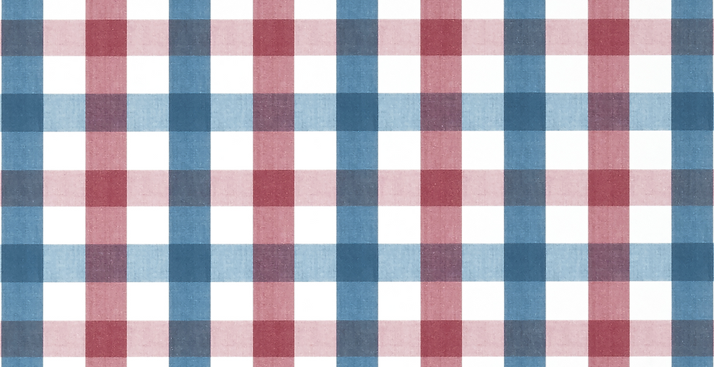 Saybrook Check - Red / Blue