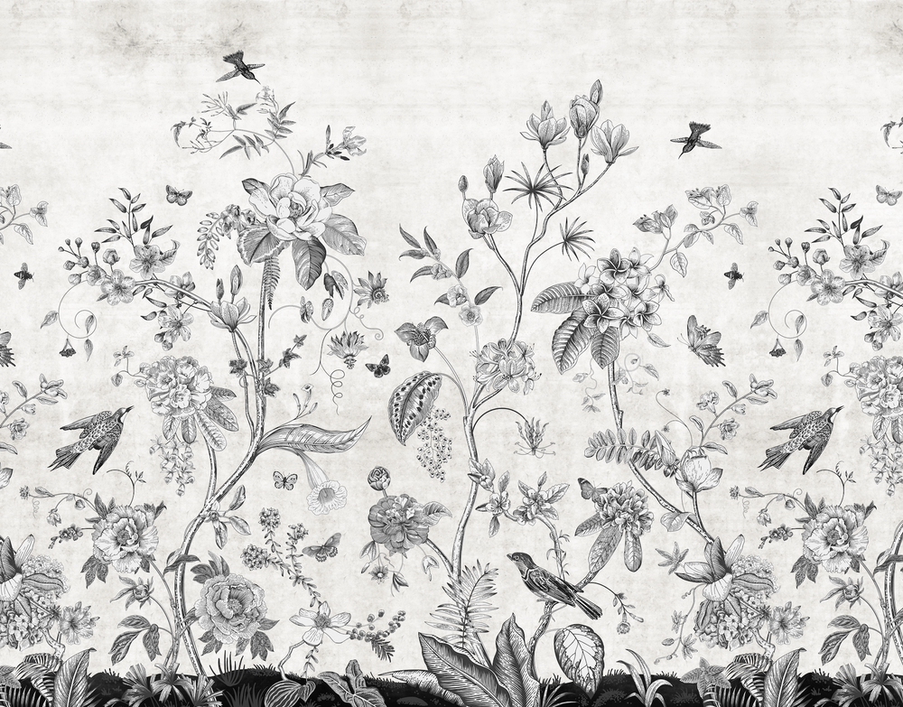 Mural - Manor House Pencil (Per Sqm)