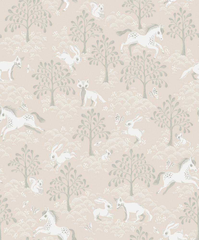 Fairytale Fox - Dusty Pink (6 Rolls Avail.)