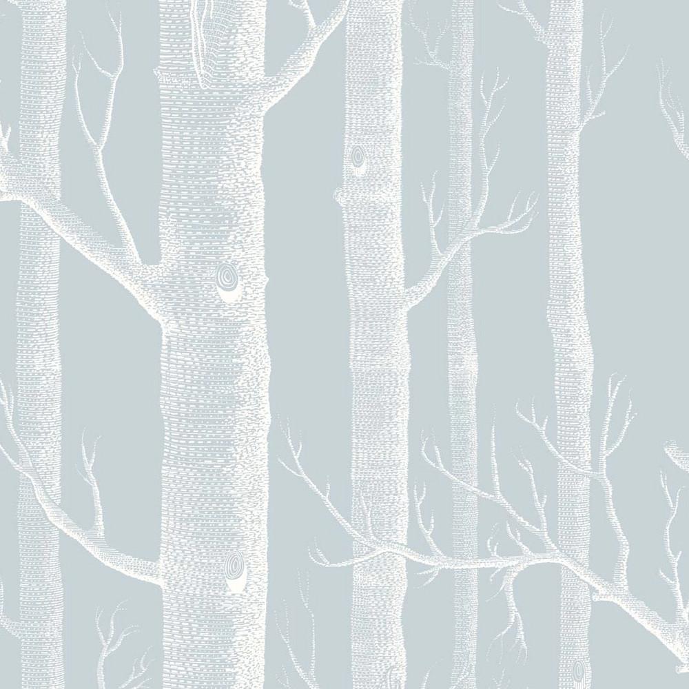 WOODS - PALE BLUE (COLE & SON)