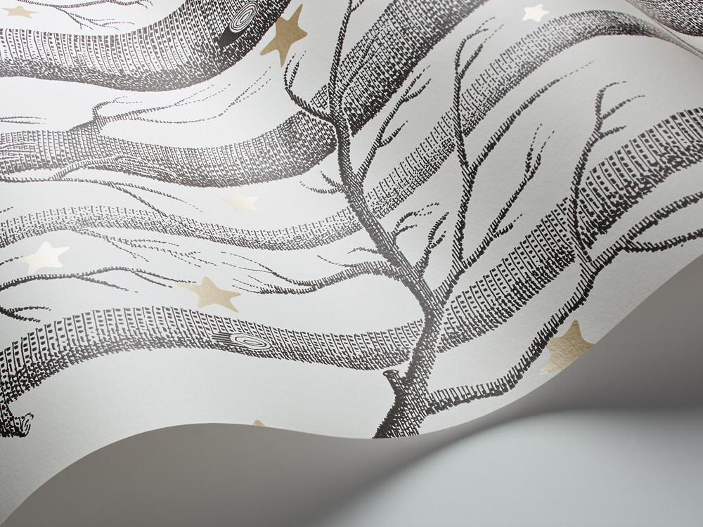 WOODS/STARS - WHITE (COLE & SON)