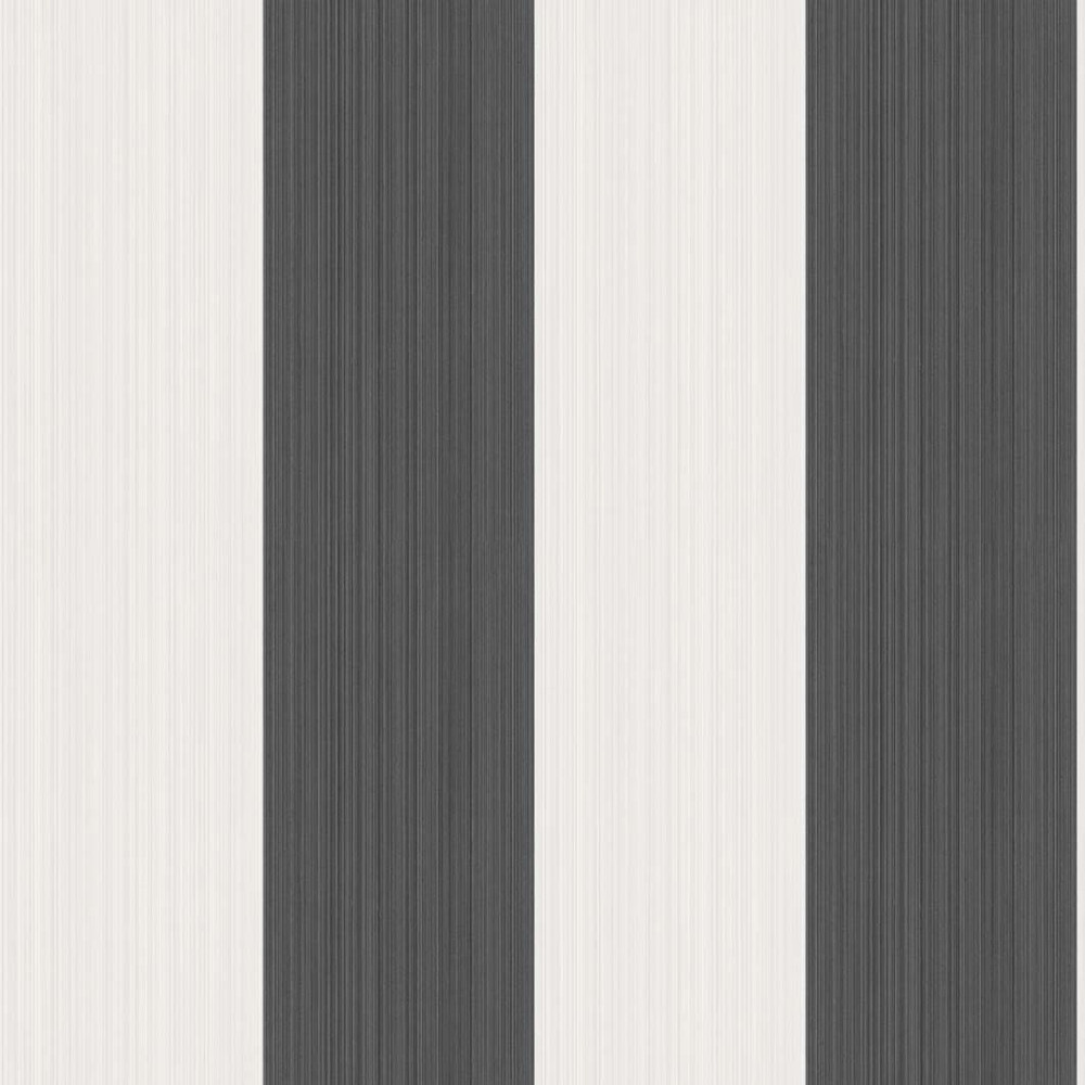 JASPE STRIPE - BLACK / WHITE