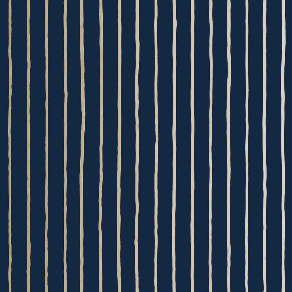 College Stripe - Navy / Gold
