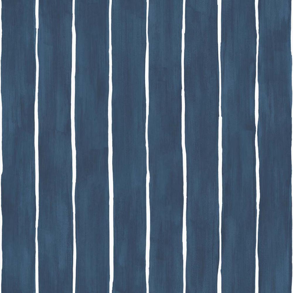 Marquee Stripe - Navy