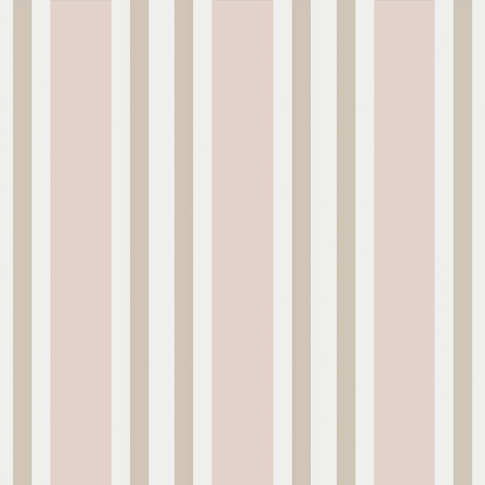 POLO STRIPE - BLUSH & LINEN