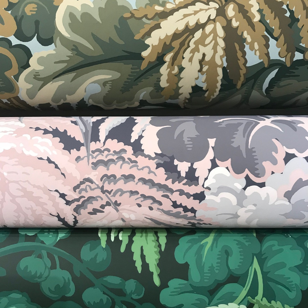 Royal Fernery - Slate & Blush
