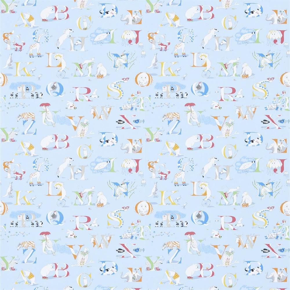 Alphabet Zoo - Powder Blue