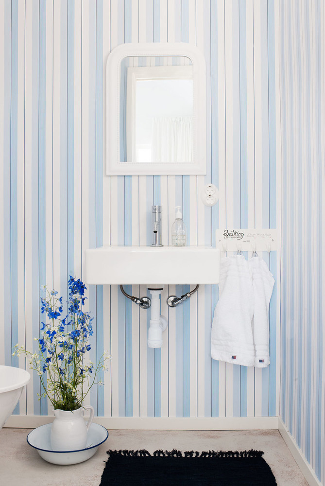Ralph Lauren Aiden Stripe - Natural / Blue / White