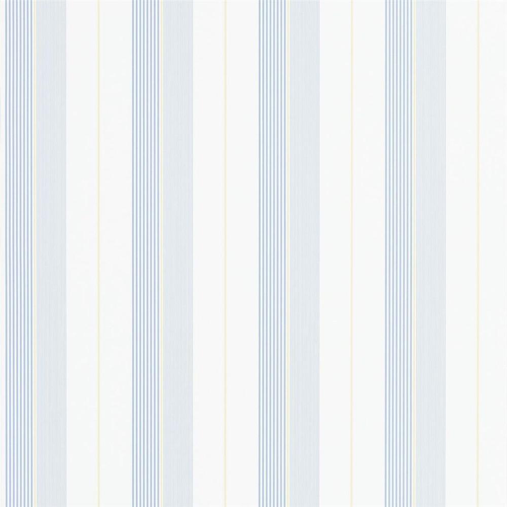 RALPH LAUREN AIDEN STRIPE - BLUE / YELLOW / WHITE