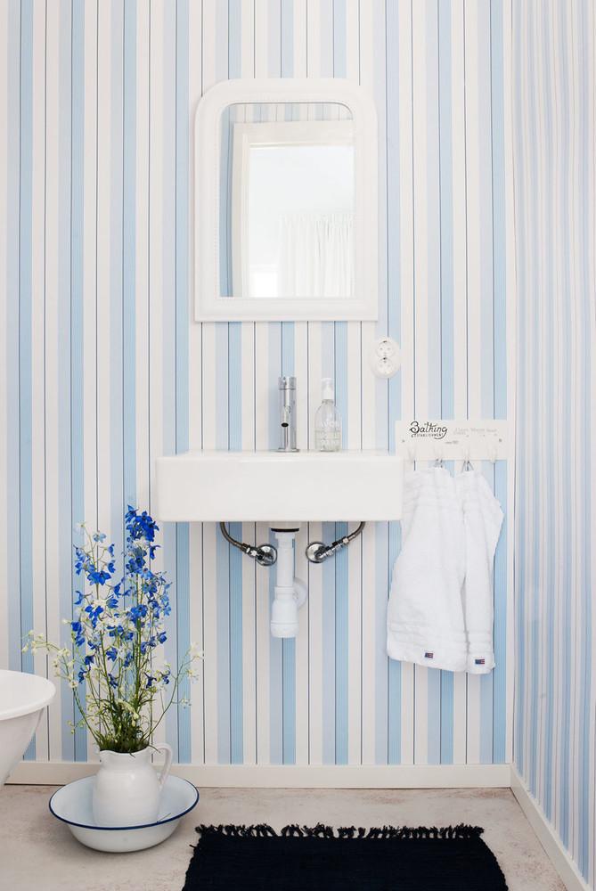 Ralph Lauren Aiden Stripe - Natural / White