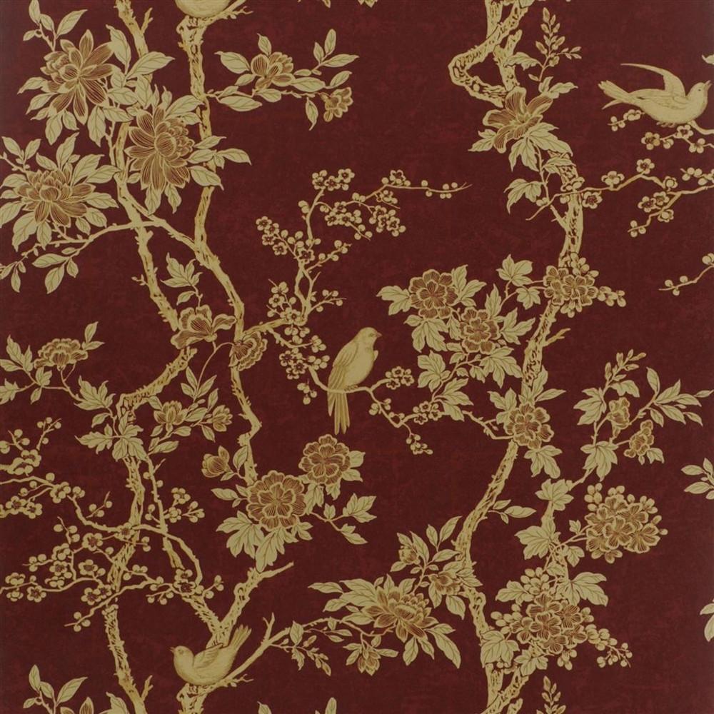 Ralph Lauren Marlowe Floral - Garnet