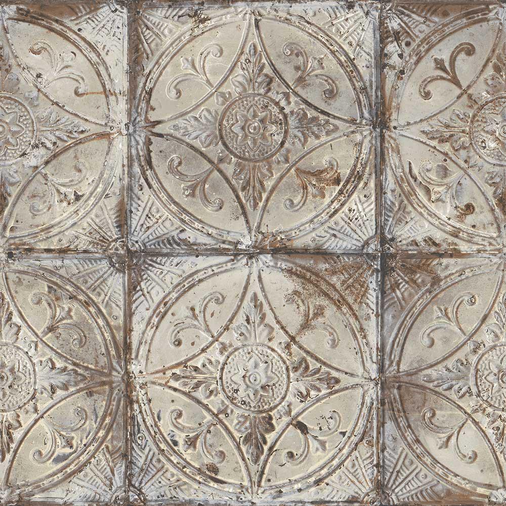Tin Tile - Grey