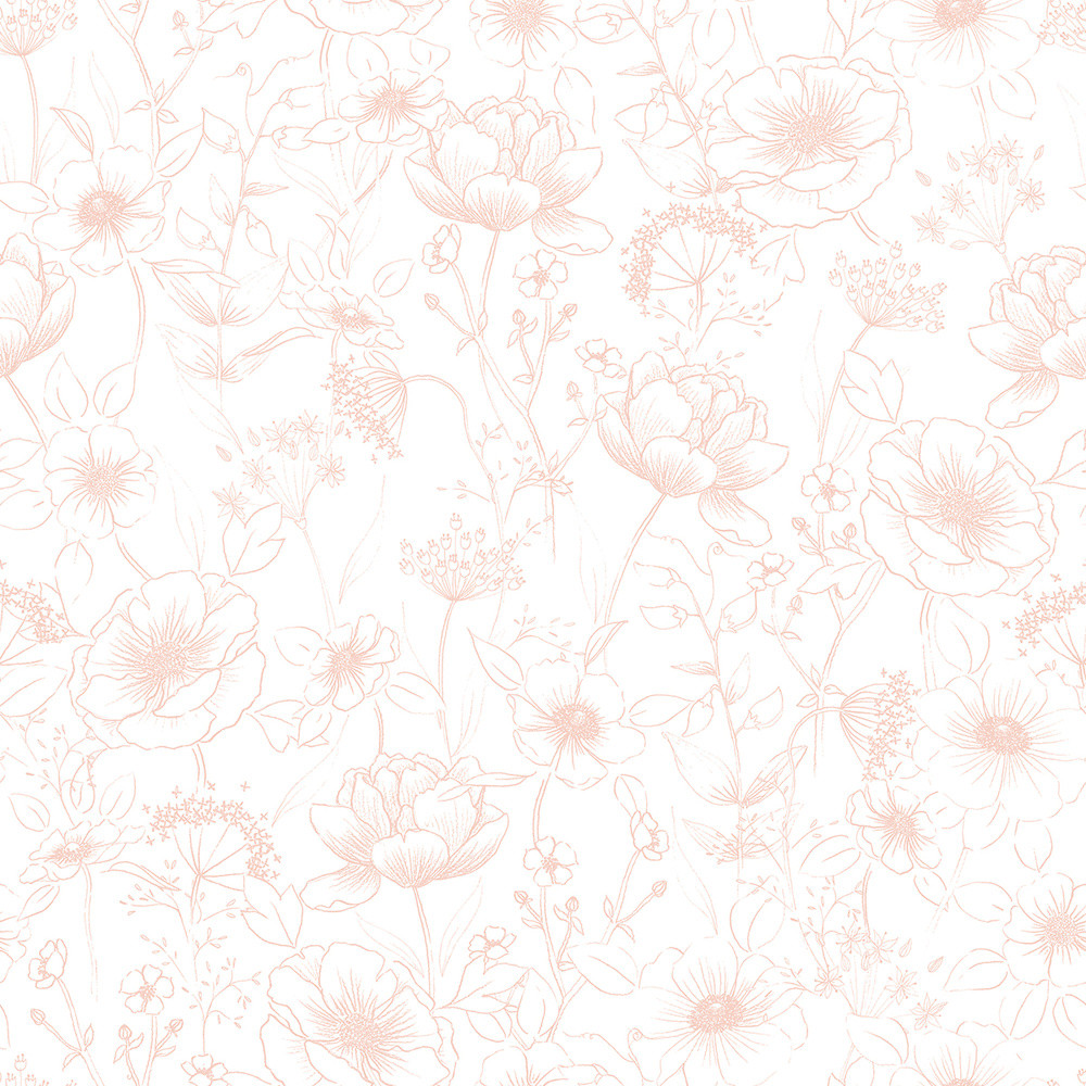 Botany Flowers - Pink