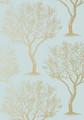 Winfell Forest - Aqua / Gold