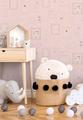 BABY ANIMALS - PINK / GLITTER