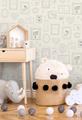 BABY ANIMALS - WHITE / GLITTER