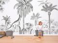 Mural - Jurassic Monochrome (4m X 2.48m)