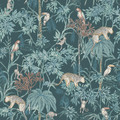 WILD JUNGLE - EMERALD GREEN